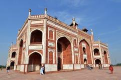 Het Graf van Humayun, India. Royalty-vrije Stock Afbeeldingen