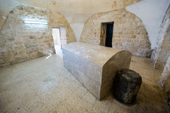 Het graf van Joseph in Nablus stock fotografie