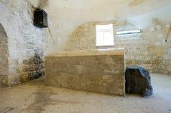 Het graf van Joseph in Nablus Stock Foto