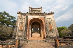 Het Graf van keizerturkije Duc - Tint, Vietnam royalty-vrije stock afbeeldingen