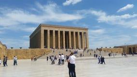 Het Graf van Mustafa Kemal Atatà ¼ rks royalty-vrije stock foto