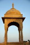 Het graf van Rajput, Rajasthan Stock Foto