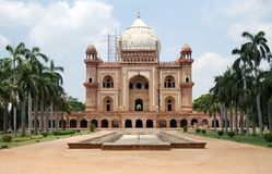 Het Graf van Safdarjung, New Delhi Royalty-vrije Stock Afbeelding