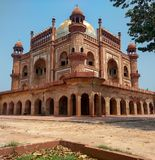 Het Graf van Safdarjung, New Delhi, India royalty-vrije stock foto's