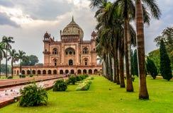 Het Graf van Safdarjung in New Delhi, India Royalty-vrije Stock Afbeeldingen