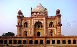 Het Graf van Safdurjung in New Delhi India royalty-vrije stock foto's