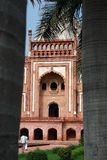 Het Graf van Safdurjung, New Delhi, India Royalty-vrije Stock Fotografie