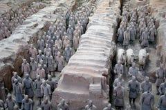 Het Graf van Si Huang van Qin Royalty-vrije Stock Afbeeldingen