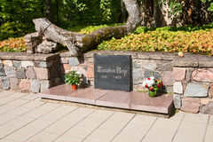Het graf van Turaida nam toe Royalty-vrije Stock Afbeelding