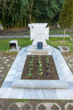 Het graf van Vanga in Rupite, Bulgarije Royalty-vrije Stock Afbeelding