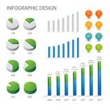 Het grafische element van info Royalty-vrije Stock Fotografie