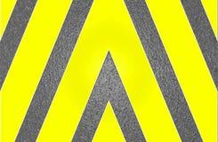 Het grafische middel bestaat uit heldere gele strepen op een grafietachtergrond royalty-vrije stock foto