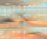 Het grafische ontwerp is abstract Grafische arts. Abstractie Textuur Stock Illustratie