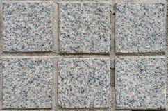 Het graniet betegelt patroon stock afbeeldingen