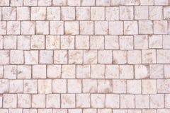 Het graniet cobblestoned bestratingsachtergrond royalty-vrije stock foto