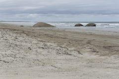 Het Granietenstrand, Coorong, Zuid-Australië Stock Afbeelding