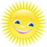 Het grappige beeldverhaalzon glimlachen Royalty-vrije Stock Afbeelding