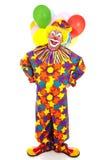 Het grappige Volledige Lichaam van de Clown Stock Foto