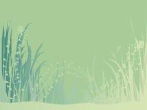 In het gras Royalty-vrije Stock Afbeelding
