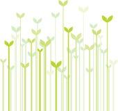 Het gras van de lente royalty-vrije illustratie