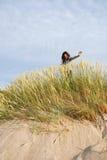 Het gras van duinen Royalty-vrije Stock Foto