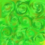 Het gras van Swirly Stock Foto