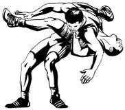 Het Grieks-Romeinse worstelen Stock Afbeelding