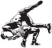 Het Grieks-Romeinse worstelen Stock Fotografie