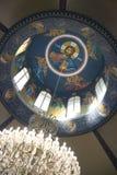 Het Griekse detail van de Kerk royalty-vrije stock afbeelding