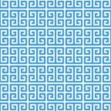 Het Griekse naadloze patroon van de lijstwerkmeander Stock Fotografie