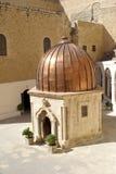 Het Griekse Orthodoxe Klooster van brengt Saba (St. Sabas) I in de war royalty-vrije stock afbeelding