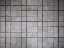 Het grijs bricked muur Stock Fotografie