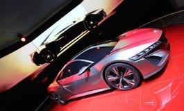 Het grijze concept van Honda NSX Stock Afbeelding