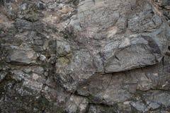 Het grijze middel van de rotsentextuur royalty-vrije stock afbeelding
