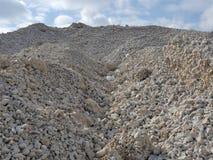 Het grint van het bergkalksteen Royalty-vrije Stock Afbeeldingen