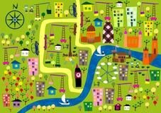 Het groeien van Londen in vector Royalty-vrije Stock Afbeeldingen