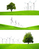 Het groen maken van de industrie Stock Foto