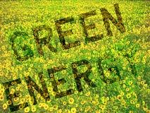 Het groene Concept van de Energie Stock Foto's