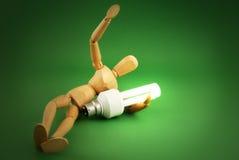 Het groene Concept van de Energie Stock Foto
