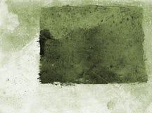Het groene document van Grunge - stock illustratie