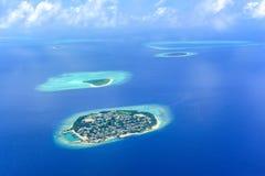 Het groene eiland van het Ariatol Stock Foto