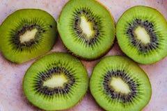 Het groene Fruit van de Kiwi royalty-vrije stock afbeeldingen