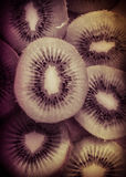 Het groene Fruit van de Kiwi stock foto's
