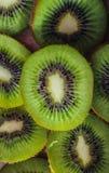 Het groene Fruit van de Kiwi stock afbeelding