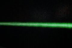 Het groene Glanzen Dots Background, Netwerkconcept Royalty-vrije Stock Afbeeldingen