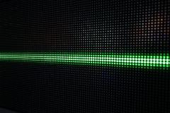 Het groene Glanzen Dots Background, Netwerkconcept Stock Fotografie