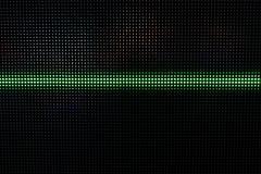 Het groene Glanzen Dots Background, Netwerkconcept Royalty-vrije Stock Foto