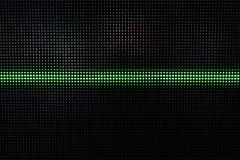 Het groene Glanzen Dots Background, Netwerkconcept Royalty-vrije Stock Foto's
