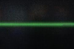 Het groene Glanzen Dots Background, Netwerkconcept Stock Afbeeldingen