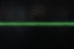 Het groene Glanzen Dots Background, Netwerkconcept Stock Foto's